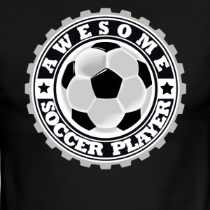 Symbol of an Awesome Soccer Player - Men's Ringer T-Shirt