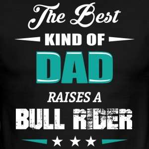 BULL RIDER DAD - Men's Ringer T-Shirt