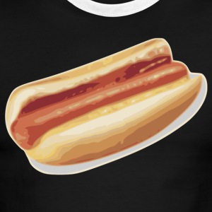 Hot Dog - Men's Ringer T-Shirt