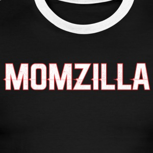 Momzilla Mom Mothers Day - Men's Ringer T-Shirt