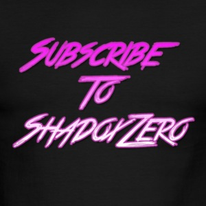 Subscribe To ShadoxZero - Men's Ringer T-Shirt