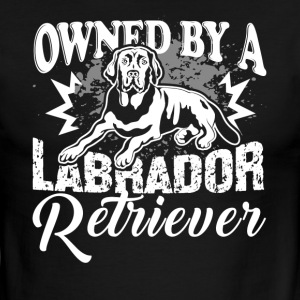OWNED BY A LABRADOR RETRIEVER SHIRT - Men's Ringer T-Shirt