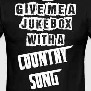 Give Me A Jukebox With A Country Song - Men's Ringer T-Shirt