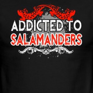 ADDICTED TO SALAMANDERS SHIRT - Men's Ringer T-Shirt