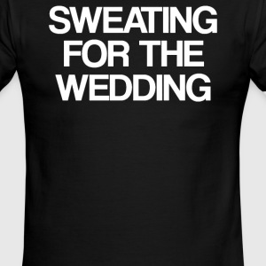 Sweating for the wedding - Men's Ringer T-Shirt