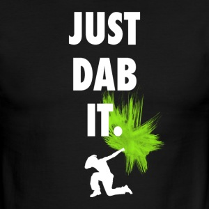 just dab it DAB panda dabbing football touchdown - Men's Ringer T-Shirt