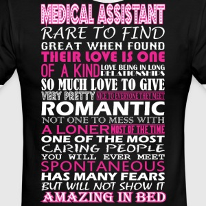 Medical Assistant Rare Find Romantic Amazing Bed - Men's Ringer T-Shirt