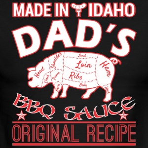 Made In Idaho Dads BBQ Sauce Original Recipe - Men's Ringer T-Shirt