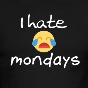 I hate Mondays - Men's Ringer T-Shirt