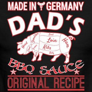 Made In Germany Dads BBQ Sauce Original Recipe - Men's Ringer T-Shirt