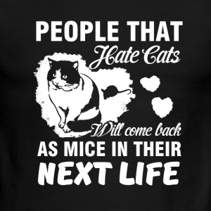 people that hate cats - Men's Ringer T-Shirt
