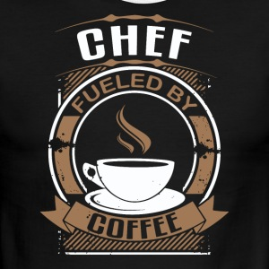 Chef Fueled By Coffee - Men's Ringer T-Shirt