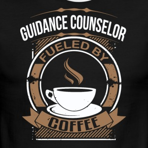 Guidance Counselor Fueled By Coffee - Men's Ringer T-Shirt