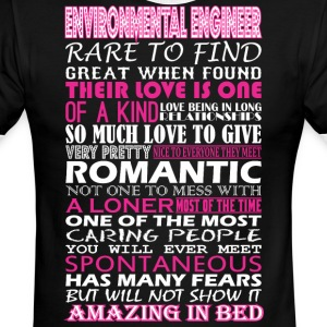 Environmental Eng Rare Find Romantic Amazing Bed - Men's Ringer T-Shirt