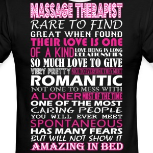 Massage Therapist Rare Find Romantic Amazing To Be - Men's Ringer T-Shirt