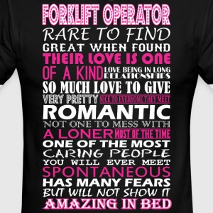 Forklift Operator Rare Find Romantic Amazing Bed - Men's Ringer T-Shirt