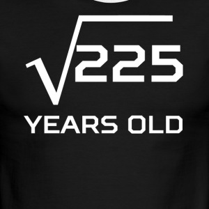 Square Root 225 Funny 15 Years Old 15th Birthday - Men's Ringer T-Shirt