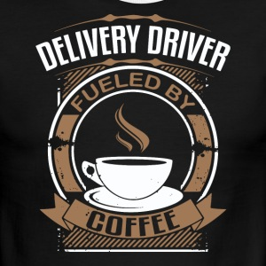 Delivery Driver Fueled By Coffee - Men's Ringer T-Shirt