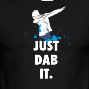 dab just dabbing football touchdown mooving dance - Men's Ringer T-Shirt