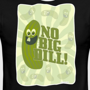 No Big Dill Pickle Pal - Men's Ringer T-Shirt