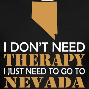 I Dont Need Therapy I Just Want To Go Nevada - Men's Ringer T-Shirt