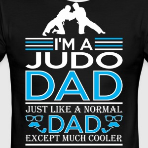 Im Judo Dad Just Like Normal Dad Except Cooler - Men's Ringer T-Shirt