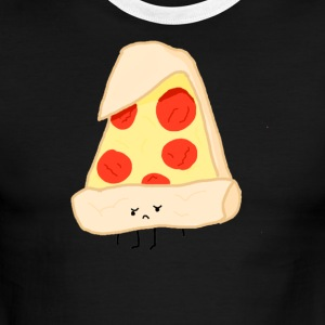 Sad Pizza - Men's Ringer T-Shirt
