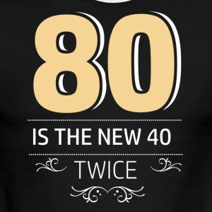 80 years and increasing in value - Men's Ringer T-Shirt