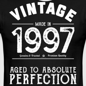 1997 Aged To Perfection: 20th Birthday Present - Men's Ringer T-Shirt