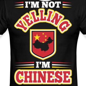 Im Not Yelling Im Chinese - Men's Ringer T-Shirt
