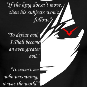 The Testament of Lelouch Vi Britannia - Men's Ringer T-Shirt
