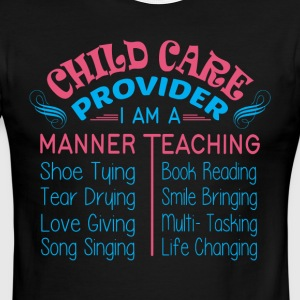 I Am A Manner Teaching T Shirt - Men's Ringer T-Shirt