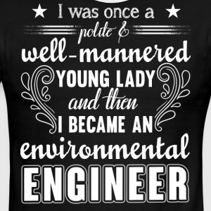 Environmental Engineer T Shirt - Men's Ringer T-Shirt