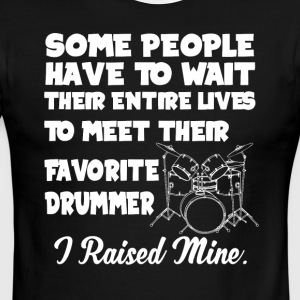 Favorite Drummer T Shirt - Men's Ringer T-Shirt