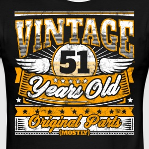 Funny 51th Birthday Shirt: Vintage 51 Years Old - Men's Ringer T-Shirt