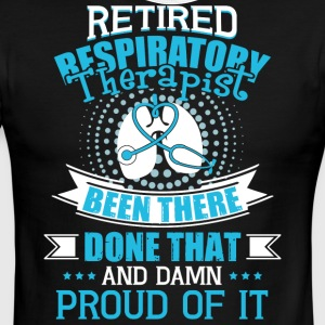 Retired Respiratory Therapist T Shirt - Men's Ringer T-Shirt