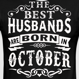 The best Husbands are born in October - Men's Ringer T-Shirt
