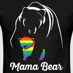 Proud Mama Bear Lgbt - Men's Ringer T-Shirt