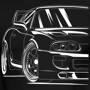 Best Toyota Supra Shirt Design - Men's Ringer T-Shirt