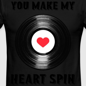 Heart Spin - Men's Ringer T-Shirt