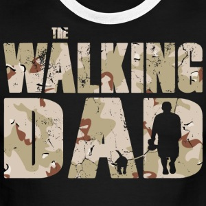 The walking DAD camouflage used look mens T-Shirt - Men's Ringer T-Shirt