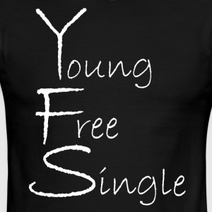 Young Free Single from Bent Sentimenta - Men's Ringer T-Shirt