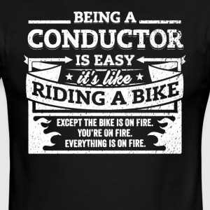 Conductor Shirt: Being A Conductor Is Easy - Men's Ringer T-Shirt