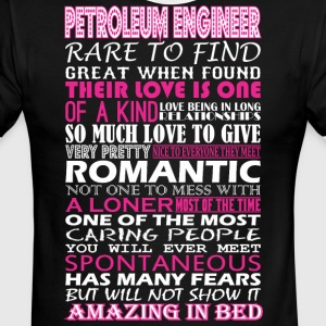 Petroleum Engineer Rare Find Romantic Amazing Bed - Men's Ringer T-Shirt