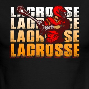 LACROSSE ACTION SHIRT - Men's Ringer T-Shirt