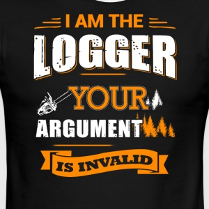 I am the Logger T-Shirt - Men's Ringer T-Shirt