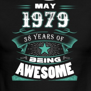 May 1979 - 38 years of being awesome - Men's Ringer T-Shirt