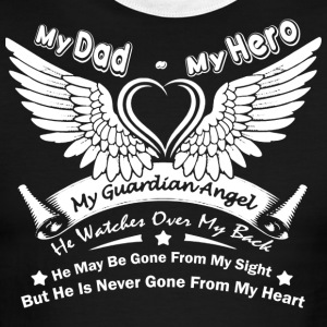 My Dad My Hero T Shirt - Men's Ringer T-Shirt