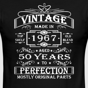 Vintage Age 50 Years 1967 Shirt - Men's Ringer T-Shirt