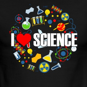 I LOVE SCIENCE SHIRT - Men's Ringer T-Shirt